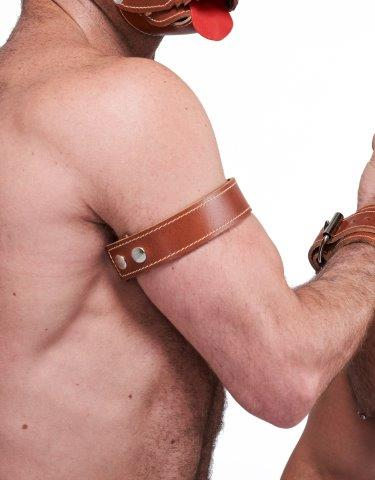 77615027_Mister_B_Leather_Biceps_Band_Stitched_Brown_1_front.jpg