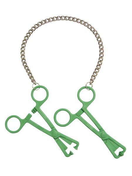 77661400n_green_tube_clamps_on_chain.jpg