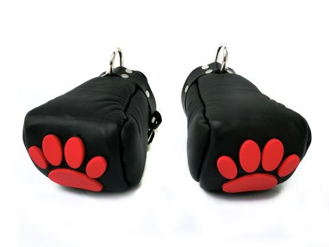 77613380_leather_fist_mits_with_silicone_paw_black_red_3.jpg