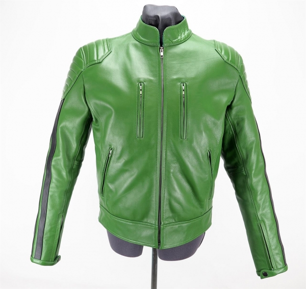 77140490_Mister_B_Leather_Biker_Jacket_Green_with_Black_Stripes_1.jpg